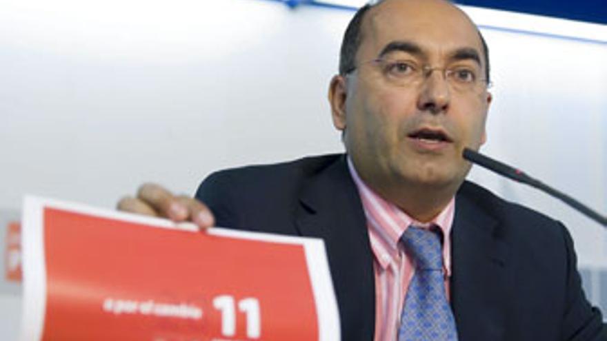 Julio Cruz, secretario de organización del PSC-PSOE.