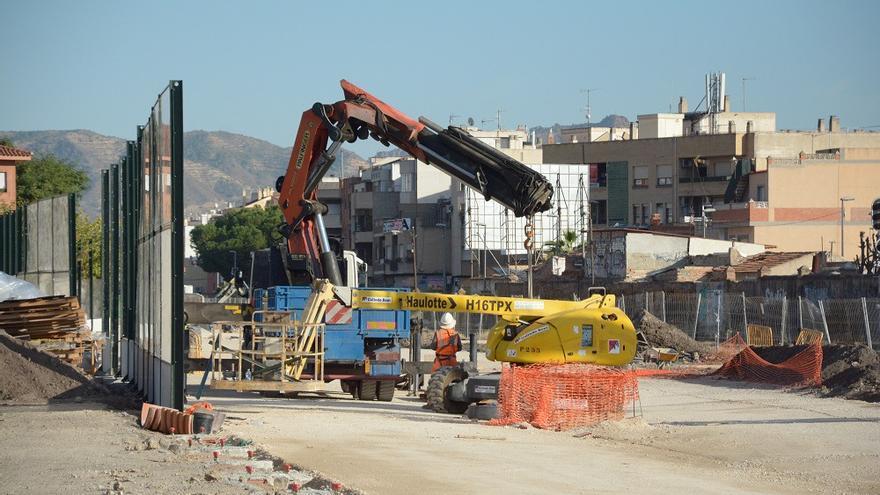 Obras del Ave en Murcia