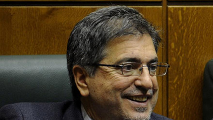 El presidente del PSE EE, Jesús Eguiguren