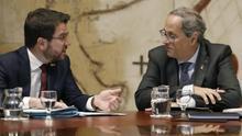 ERC se impacienta por las elecciones en Catalunya mientras Torra aleja la fecha de la convocatoria