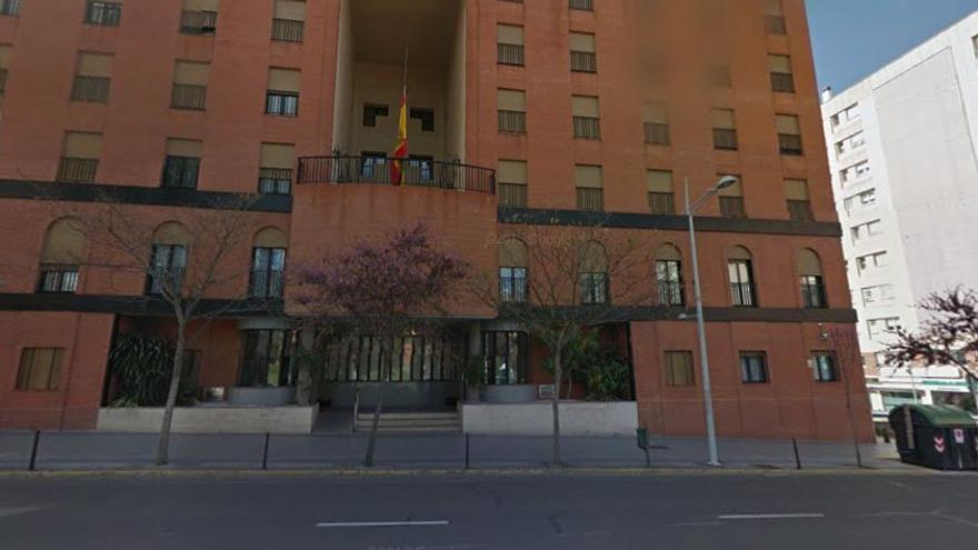 residencia militar Gravelinas Badajoz