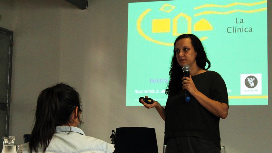 Electra Bethymouti, de Solidarity Clinics. / JUAN MIGUEL BAQUERO