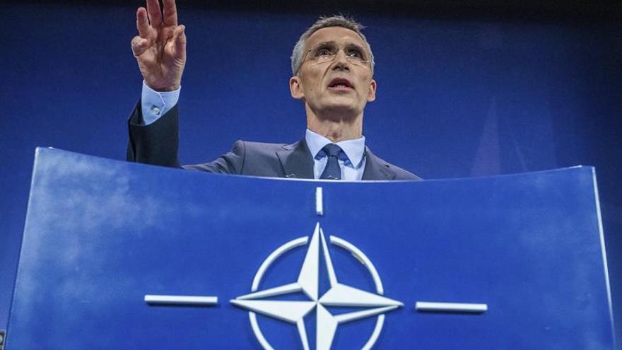 La OTAN pide a Siria respetar la Convención contra las armas químicas tras el ataque en Siria