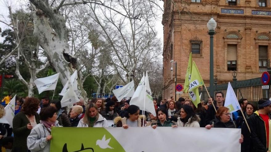 Pacma se manifiesta este domingo para pedir la abolición de la tauromaquia