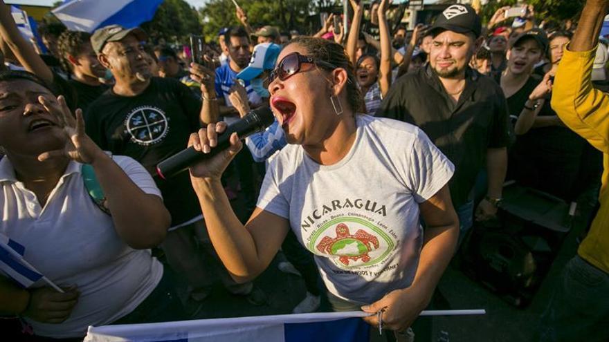 Miles de personas escenifican su hartazgo contra el Gobierno de Ortega