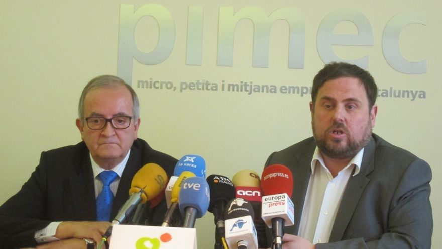 """Junqueras (ERC) cree que los contactos del Gobierno de Artur Mas con el Estado """"no sirven para nada"""""""