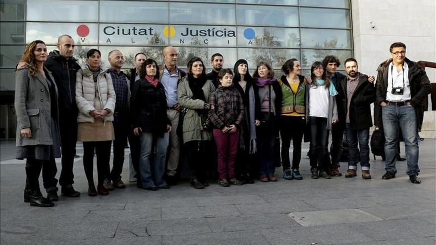 Los acusados de protestar en Cofrentes declaran que actuaron individualmente