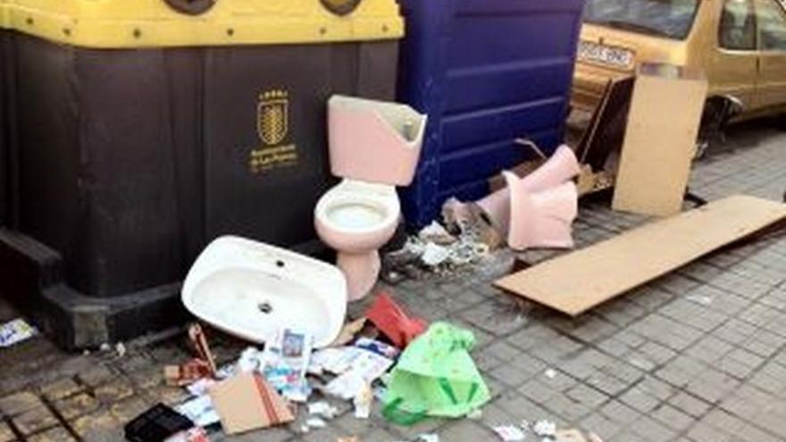 De acumulación de basura en LPGC #3