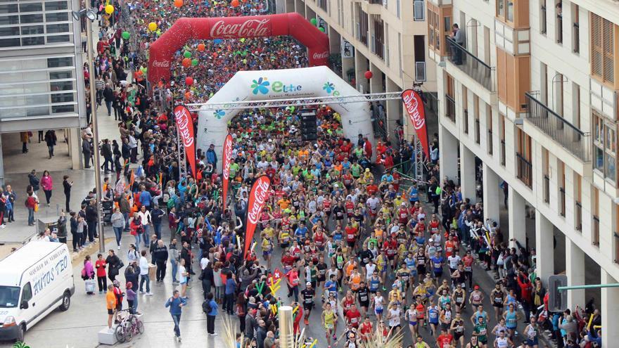 La pasada edición de la Media Maratón de Elche