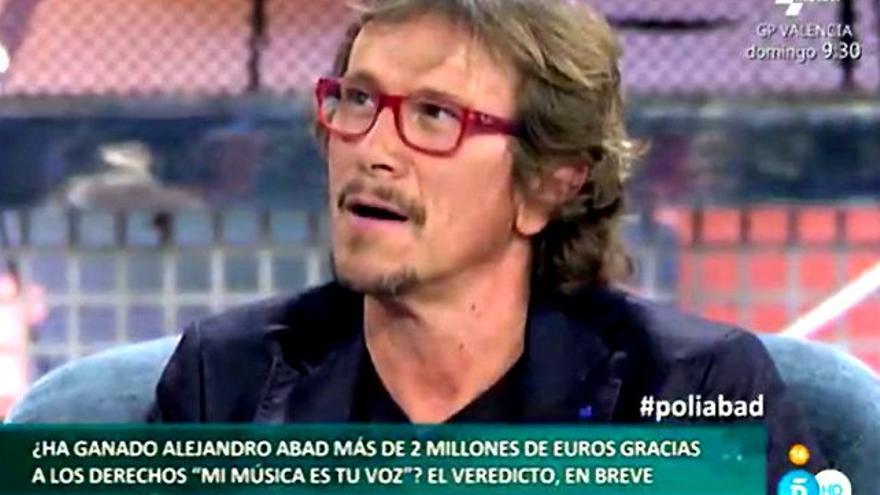 Alejandro Abad atacó a Manu Tenorio, Alex Casademunt y Juan 'Camas' en 'Deluxe'
