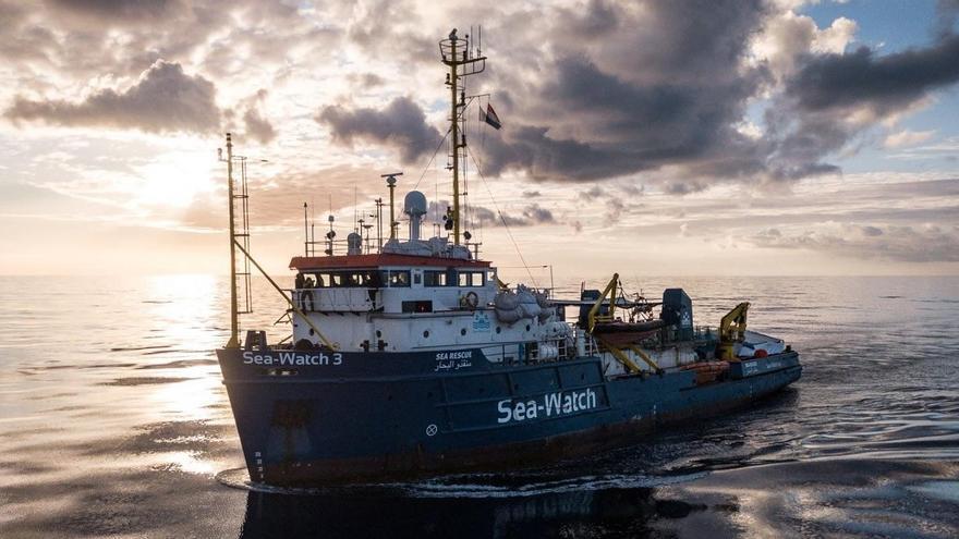 La nave de rescate Sea Watch 3.