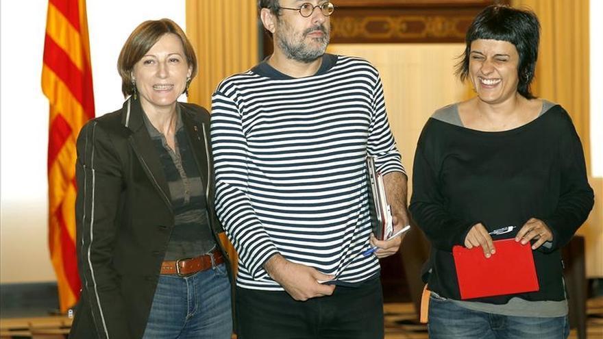 Baños reafirma que la CUP no investirá a Mas y aboga por fórmulas de consenso