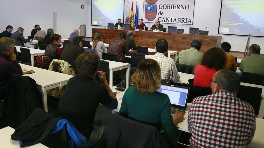 Cantabria dota con casi 26 millones su Plan para Prevención y Lucha contra Incendios 2017-2020