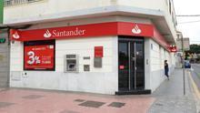 Sucursal del Banco Santander. (ALEJANDRO RAMOS)