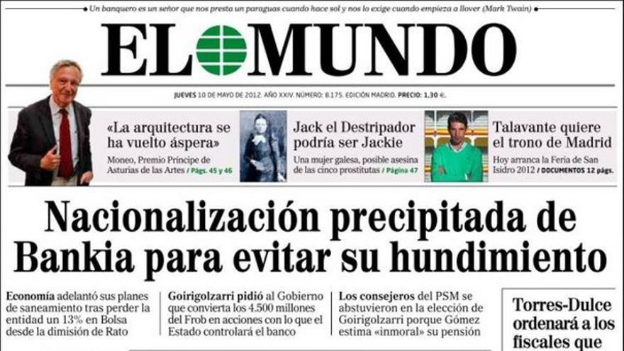De las portadas del día (10/05/2012) #8