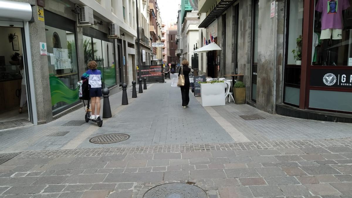 Ocupación de la vía pública en Santa Cruz de Tenerife
