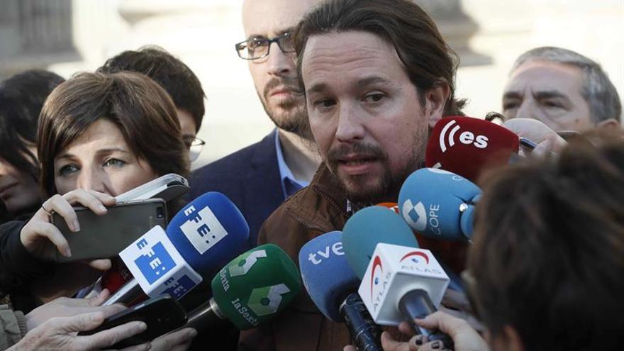 Iglesias aborda el jueves con sus diputados los retos del nuevo curso