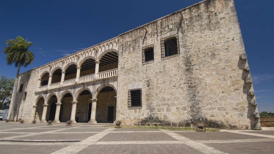El Alcázar de Don Diego Colón, una de las construcciones más antiguas de Santo Domingo. TURISMO REP. DOM.