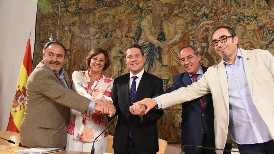 Firma del Acuerdo Estratégico para la Prevención de Riesgos Laborales en Castilla-La Mancha 2017-2021
