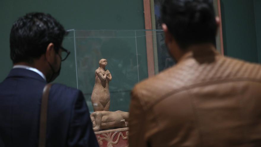 Escultura del fallecido artista mexicano Juan Soriano llega al Museo Soumaya