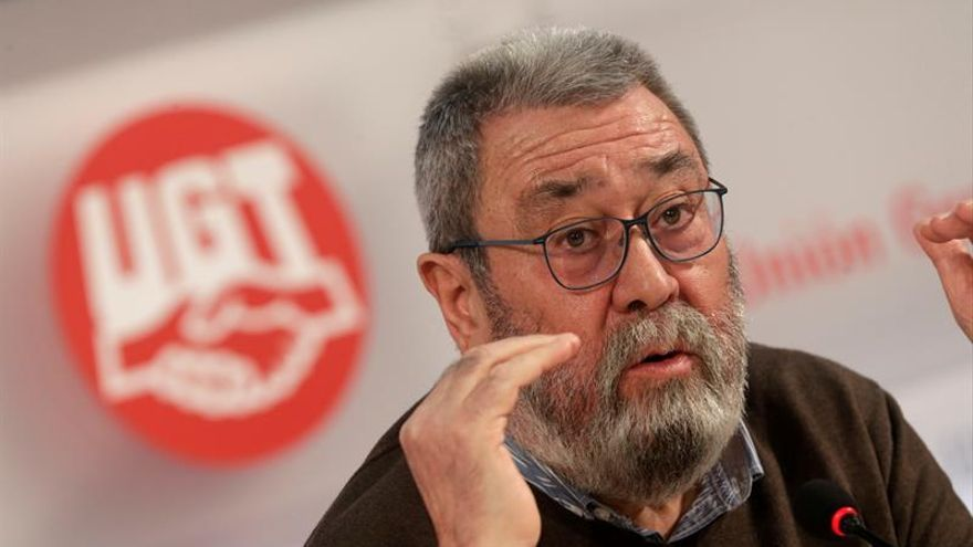 """Méndez (UGT) pide que """"no se sacralice"""" la palabra estabilidad"""