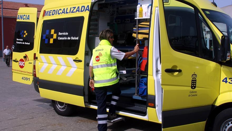 Ambulancia medicalizada.