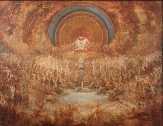 La Coronación de la Virgen (óleo sobre lienzo, 1820-1823) | http://www.flickr.com/photos/museoromanticismo/
