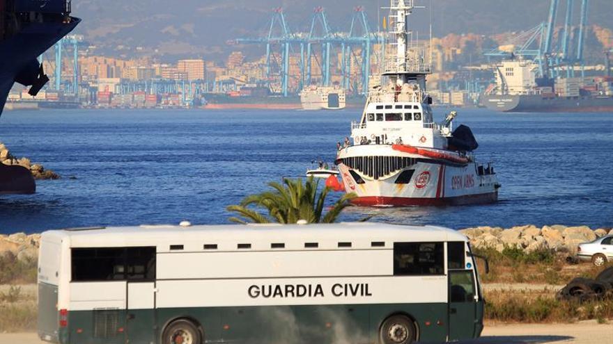 Capitanía ordena al barco Open Arms el regreso al puerto de Algeciras (Cádiz)