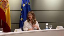 Yolanda Díaz pretende presentar la ley contra los falsos autónomos en empresas como Glovo antes de agosto
