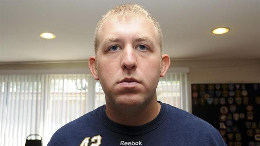 Darren Wilson, el oficial de policía que mató a Michael Brown en Ferguson. \ Reuters