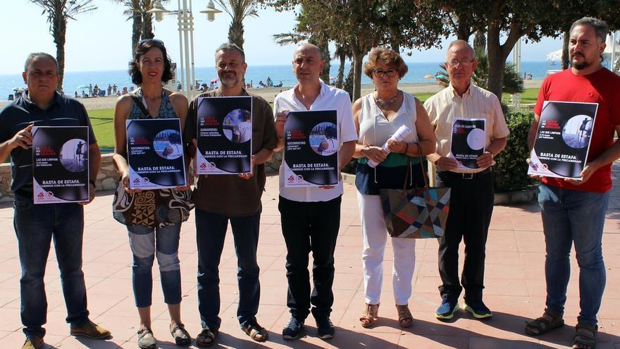 """El PCA lanza una campaña para visibilizar la 'cara B' del turismo andaluz """"atravesada por la precaridad laboral"""""""