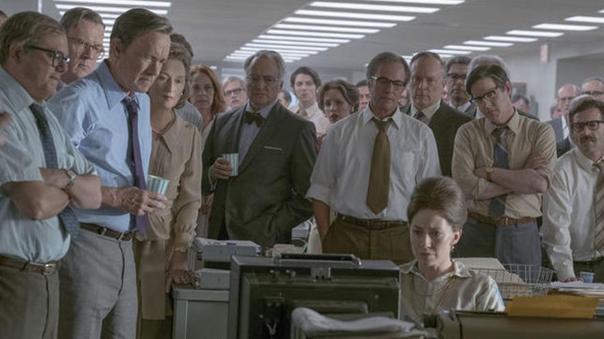 Fotograma de 'Los archivos del Pentágono', de Steven Spielberg
