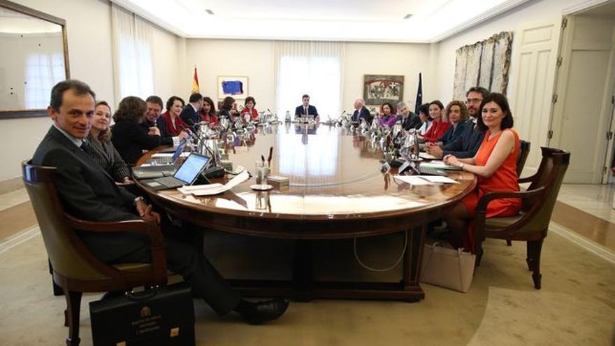 Reunión del Consejo de Ministros en junio de 2018.