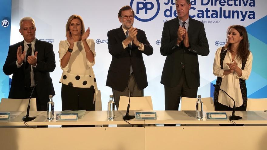 """Rajoy defiende intervenir las cuentas del Govern para no invertir """"ni 1 euro"""" en el 1-O"""