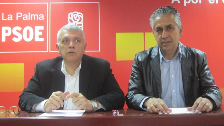 En la imagen, Manual Marcos Pérez y Néstor Paz.