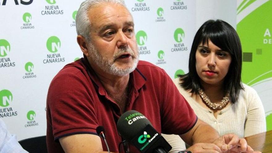 Argelio Hernández, portavoz de Nueva Canarias en el Ayuntamiento de Garafía.