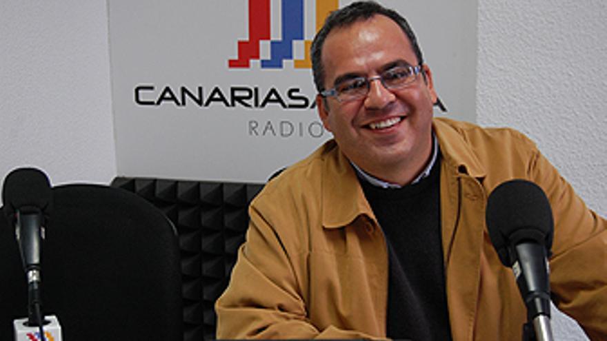 Juan Domínguez en CANARIAS AHORA RADIO. (L.J.V.)