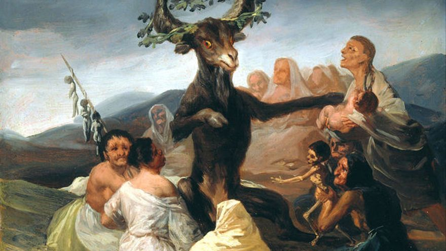 'El aquelarre' de Francisco de Goya