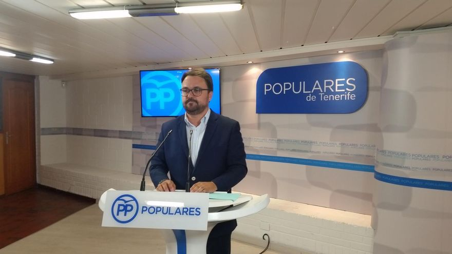 Asier Antona, presidente del PP en Canarias.