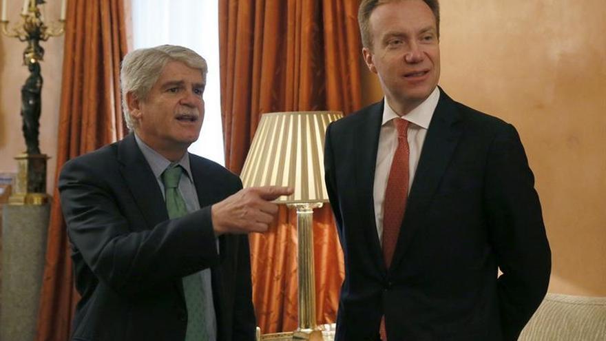 Dastis reafirma a su homólogo noruego compromiso con proceso paz en Colombia