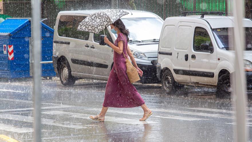 Fuertes tormentas mañana en el norte y en zonas cercanas al sistema Ibérico
