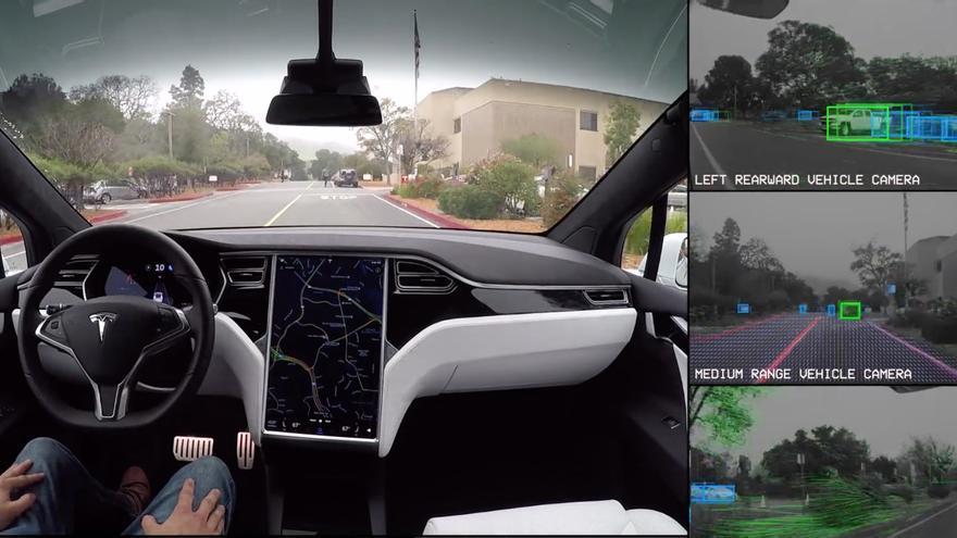 Última actualización del software del Autopilot de Tesla.