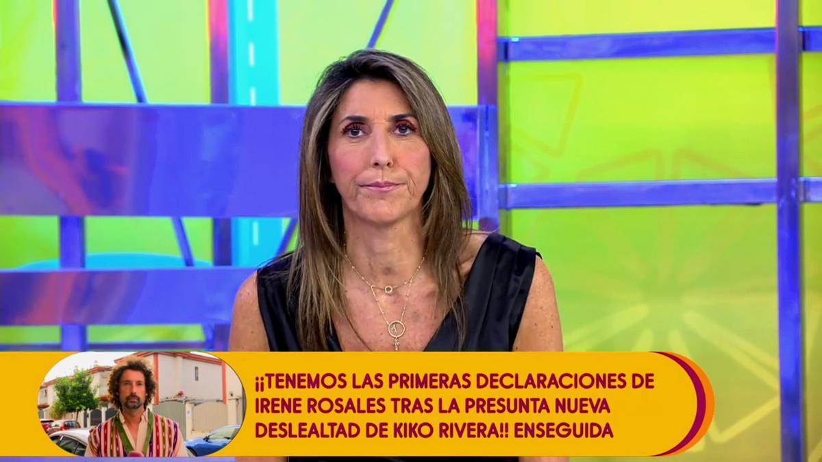 Paz Padilla, este 15 de septiembre en 'Sálvame'