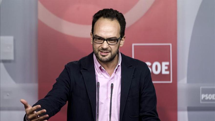 El PSOE pide al PP que antes de hablar de Ideas aclare el caso Bárcenas