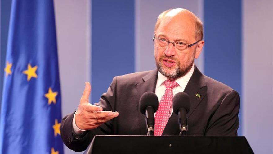 Socialistas europeos piden que Schulz continúe al frente de la Eurocámara