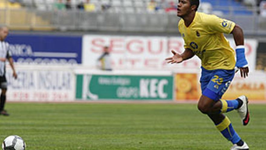 Rondón, a disposición de Paco Jémez. (JOSÉ CARLOS GUERRA / VS3-ACN PRESS)