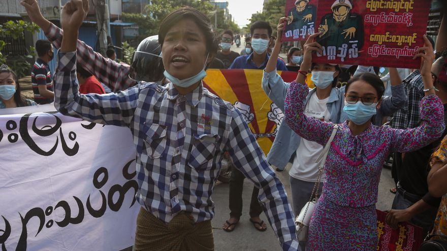Movimiento de desobediencia birmano se solidariza con protestas de Colombia