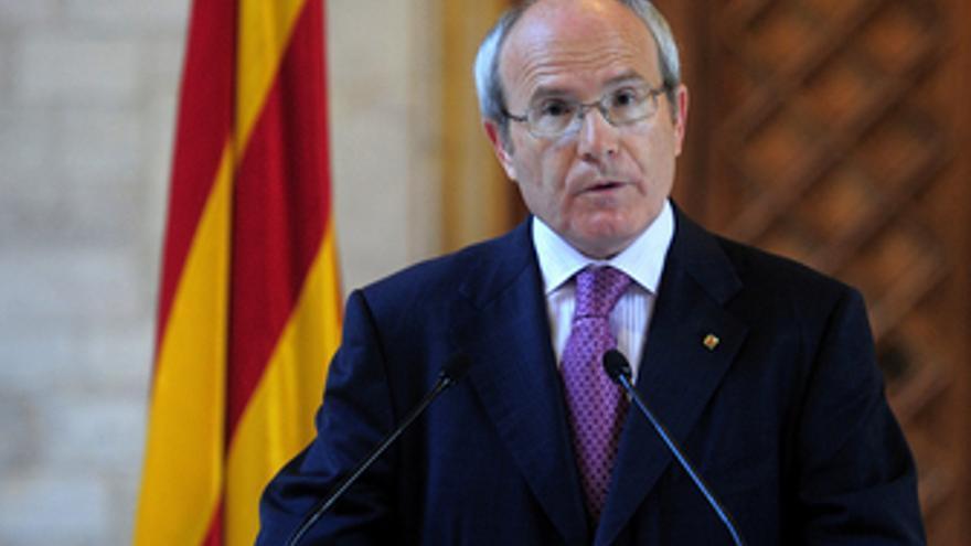 Presidente de la Generalitat, José Montilla