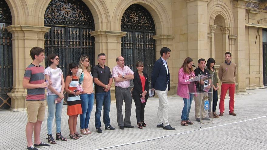 Todos los grupos municipales de San Sebastián se unen en la campaña contra las agresiones sexistas de Semana Grande