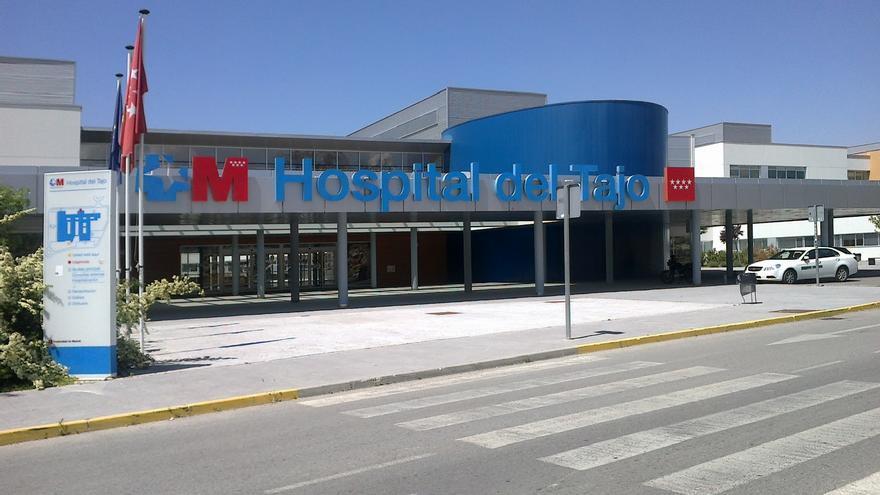 Entrada del hospital del Tajo, en Aranjuez. / Wikipedia